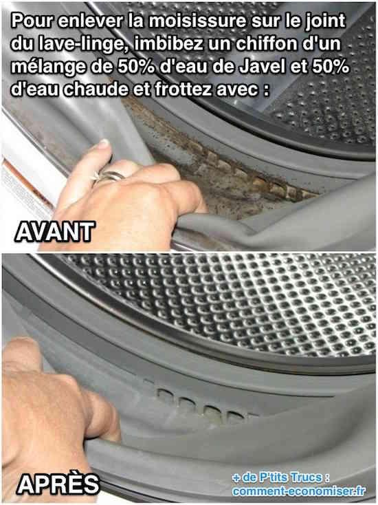 comment laver une machine à laver le linge