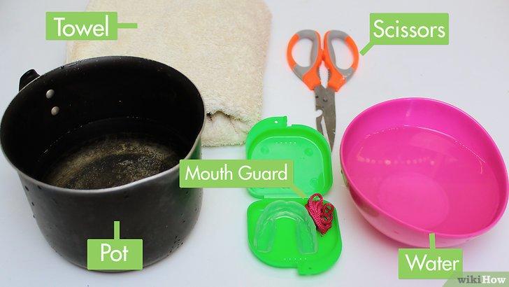 comment mouler un protège dent