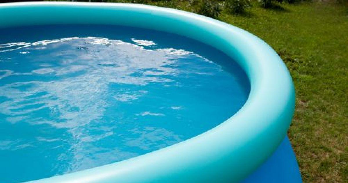 comment réparer une piscine gonflable