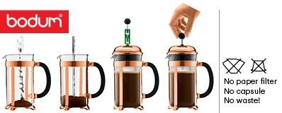 comment utiliser une cafetière