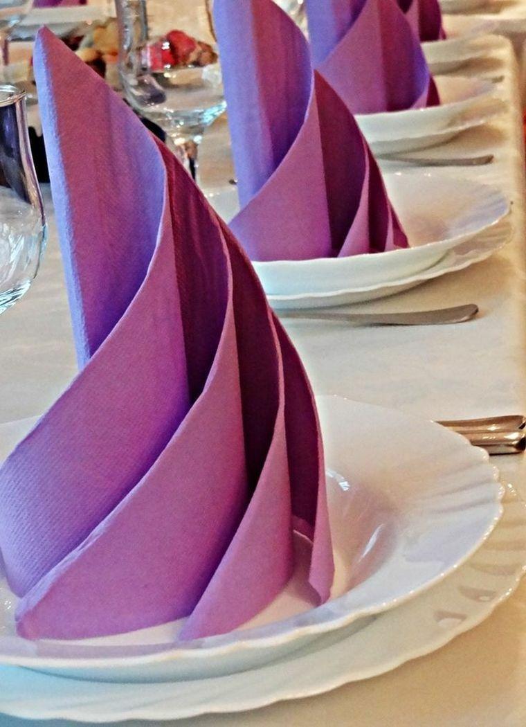 decoration serviette papier