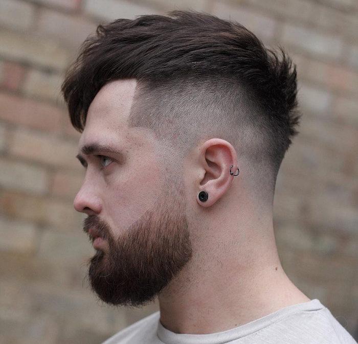 dégradé de barbe