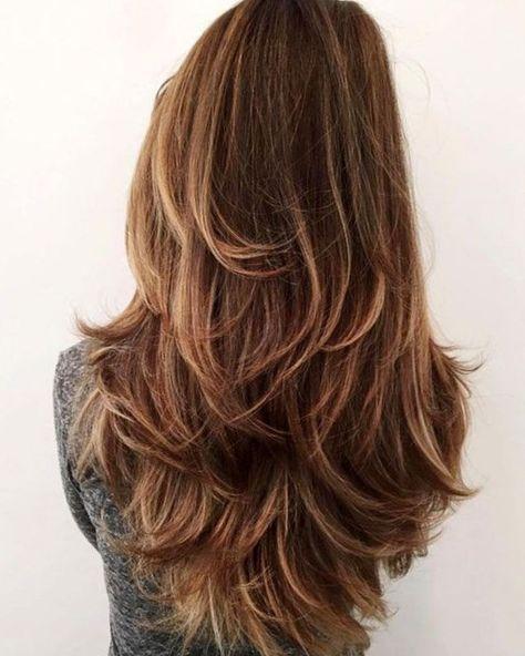 dégradé long cheveux