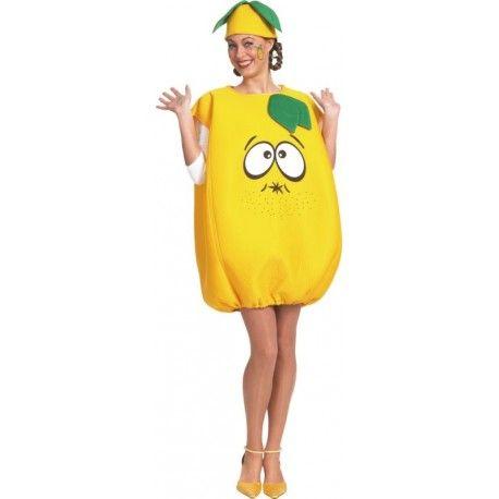 déguisement citron