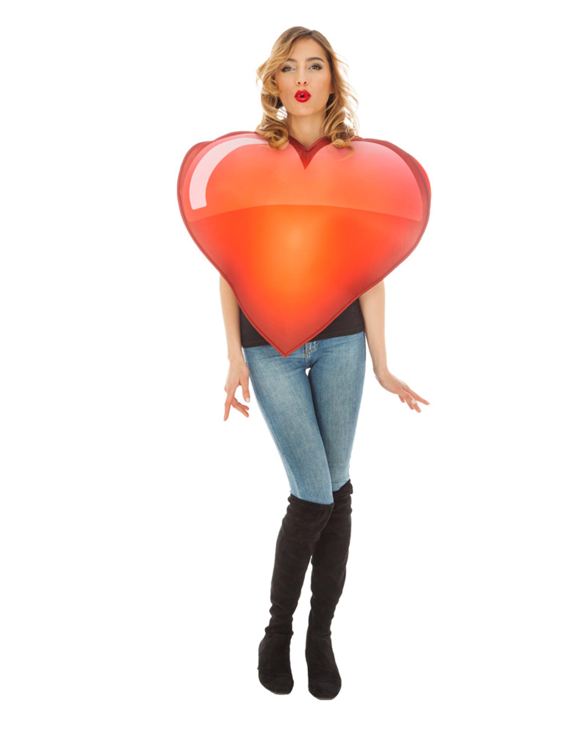 deguisement coeur