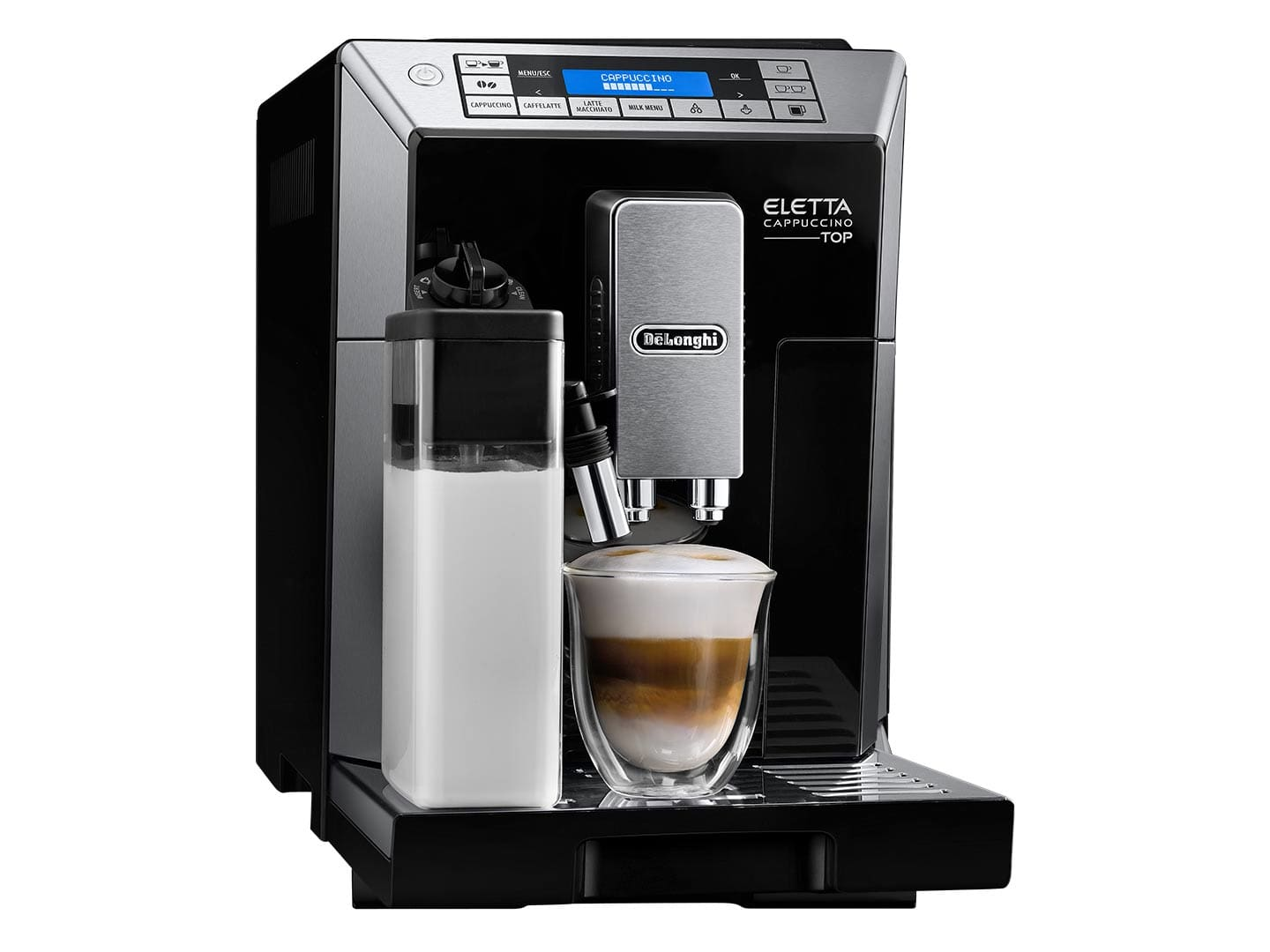 delonghi machine a cafe