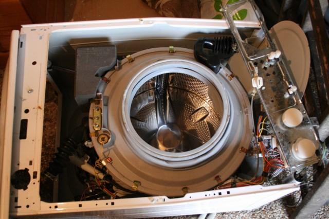 demonter machine a laver