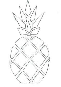 dessin ananas