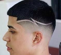 dessin cheveux tondeuse